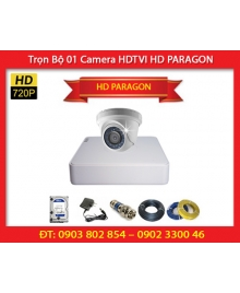 Trọn Bộ 01 Camera HD PARAGON HDS-5882TVI-IRA (1.0MP)